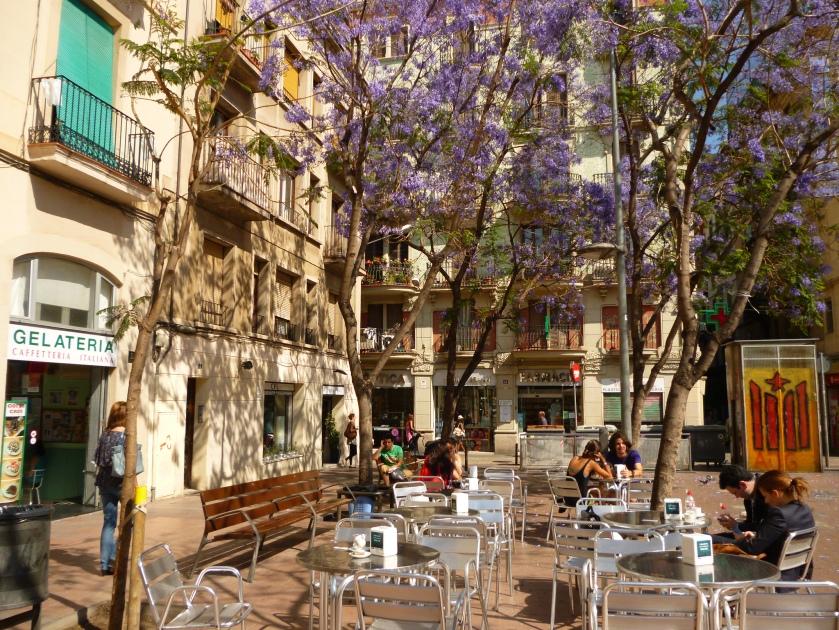 Terrazas en Gràcia / Flickr: Oh-Barcelona.com /